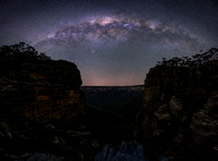 Night Sky over Blue Mountains