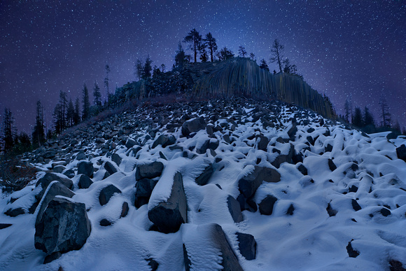 Cold Mountain: Devils Postpile